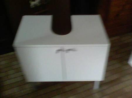 Meuble de sous lavabo ikea blanc mouscron 7700 for Meuble sous lavabo ikea