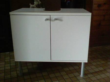 Meuble De Sous Lavabo Ikea Blanc Mouscron 7700 Meubles Pas