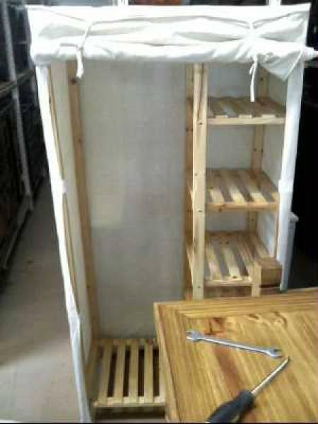 armoires en tissu. Black Bedroom Furniture Sets. Home Design Ideas