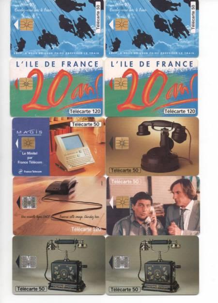 Collection Val-d'Oise St Brice sous Foret - 95350 - Photos Vivastreet TELECARTES VIDES