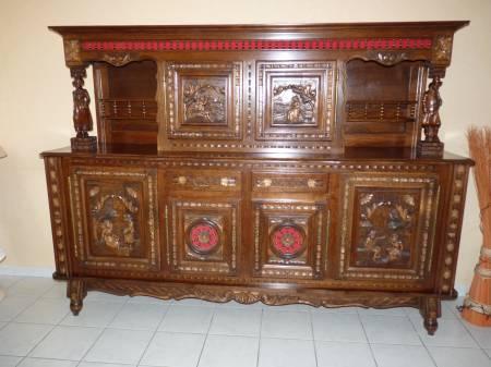 Ameublement art de la table meubles occasion dagneux for Salle a manger bretonne