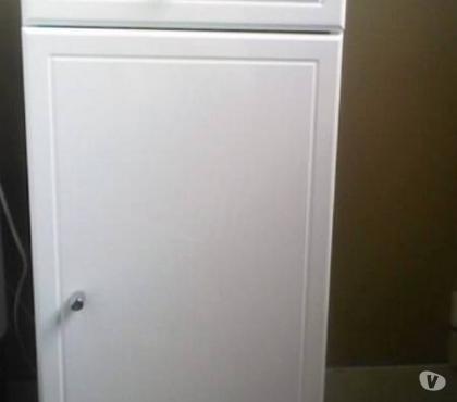 Photos Vivastreet meuble 35 cm laqué blanc encore non utilisé>projet abandonné