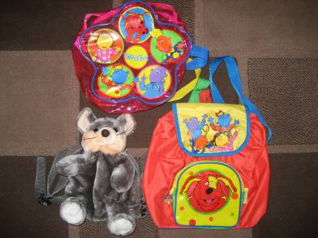 Used baby clothes East Riding of Yorkshire Beverley - HU17 - Photos for BACK PACKS – 2 X TWEENIES, 1 FURRY MOUSE (WILL SELL SEPERATE