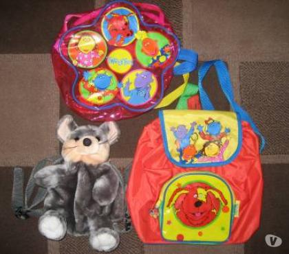 Photos for BACK PACKS – 2 X TWEENIES, 1 FURRY MOUSE (WILL SELL SEPERATE