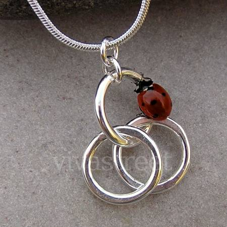 Photos for Circle of Life Necklace -Handmade Silver Jewellery
