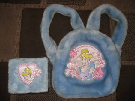 Photos #display# Vivastreet DISNEY CINDERELLA MUSICAL JEWELLERY BOX & BACK PACK