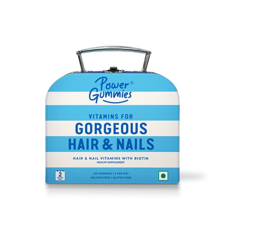 Beauty products Guwahati - Photos for Power Gummies – Gorgeous Hair & Nails | 2 Months Pack