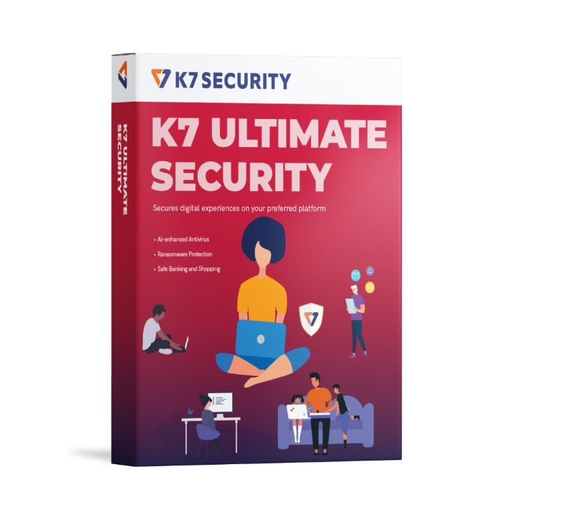 Web services Chennai - Photos for K7 Ultimate Security 1 Device,1 Year