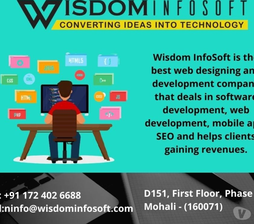 Web services Patiala - Photos for Best Web Development and Designing Company | Wisdom Infosoft