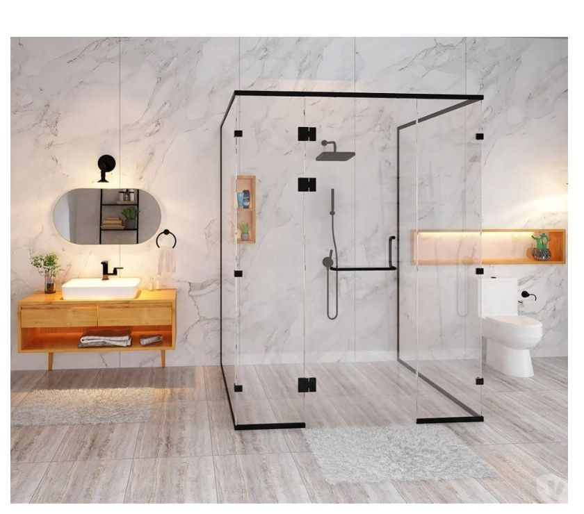 Renovation services Faridabad - Photos for Glass Shower Cabin — Install a Uniquely Designed for your Ho