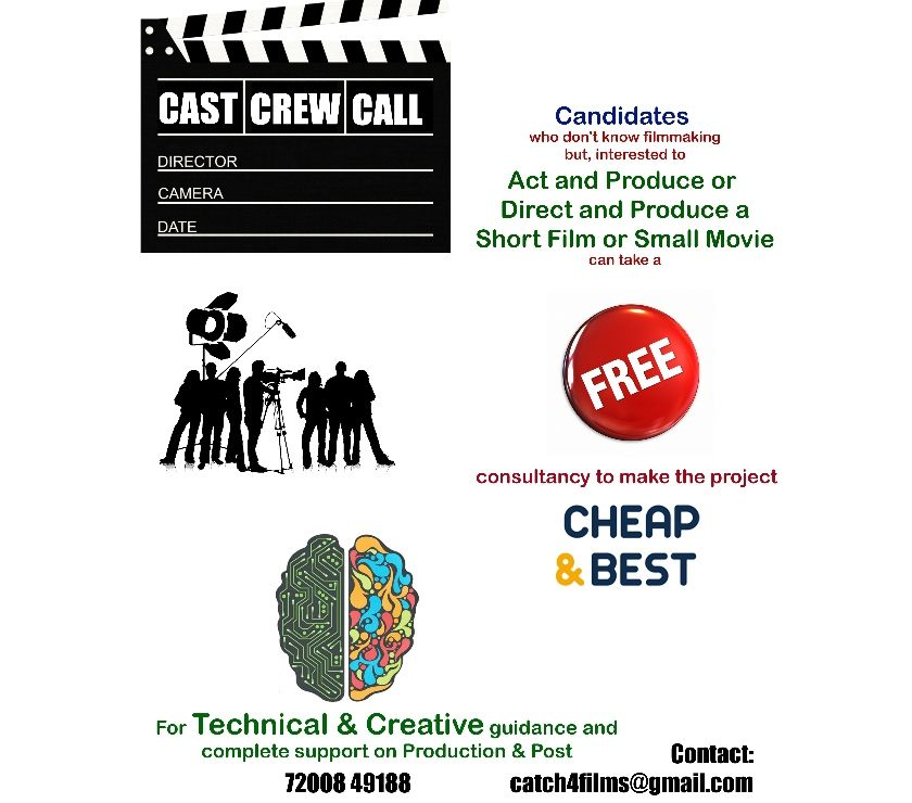 Other Services Chennai - Photos for Consultant and Investor for SHORT FILMS
