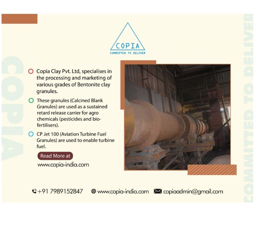 Other Services Hyderabad - Photos for Bentonite Granules Suppliers and Double Roasted Copia Clay