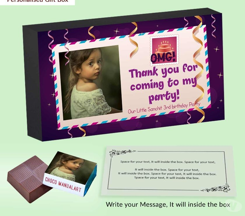 Wedding planners New Delhi - Photos for Dangling ribbons customised birthday return gift