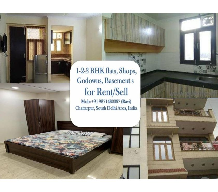 property for rent New Delhi - Photos for flat for rent in chattarpur please call for more information