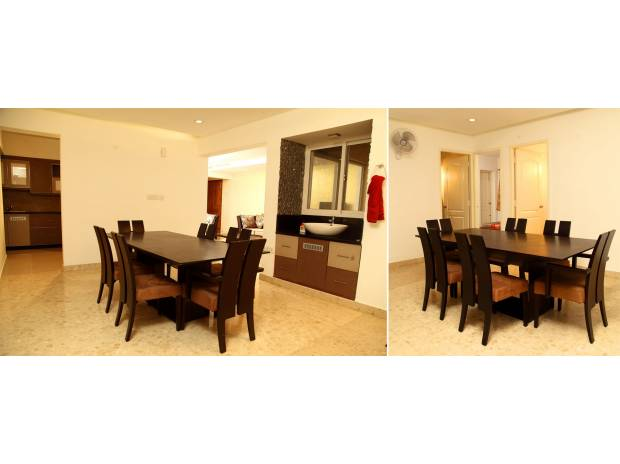 Photos for Fully furnished 3 bed flat in Kochi for daily weekly rent