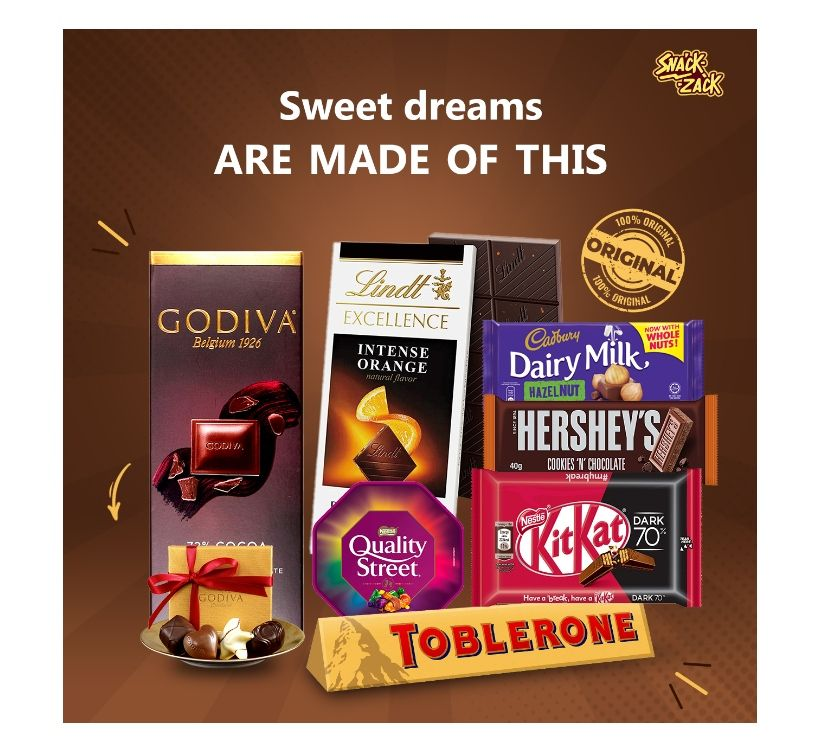 Food & Drink Suppliers Delhi - Photos for best chocolate In India