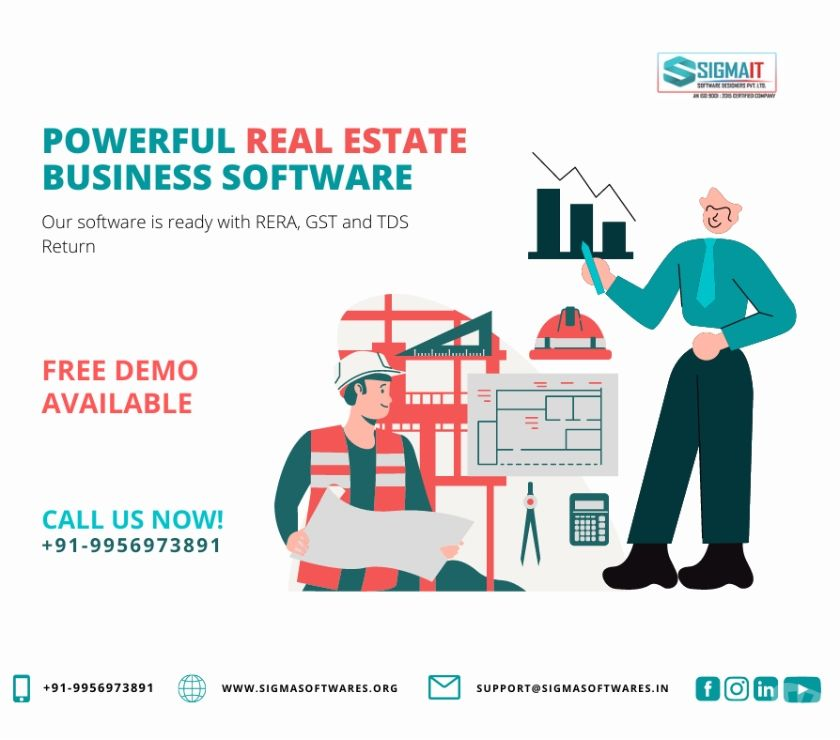 Web services Lucknow - Photos for A Powerful Real Estate Business Software