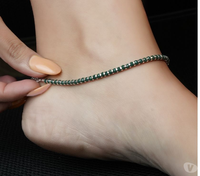 Fashion accessories New Delhi - Photos for Buy Traditional& Stylish Silver Anklets Online