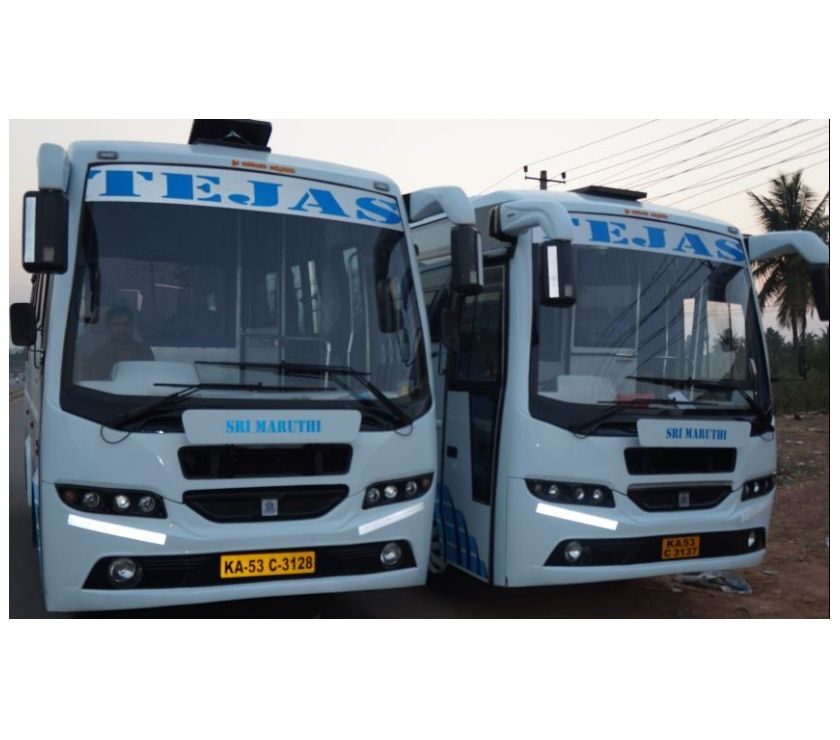 Other Services Bangalore - Photos for Rent a luxury 21 Seater Minibus in Hoskote, Bangalore