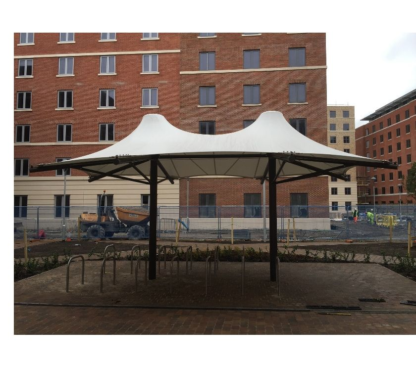 Other Services New Delhi - Photos for tensile walkway structure