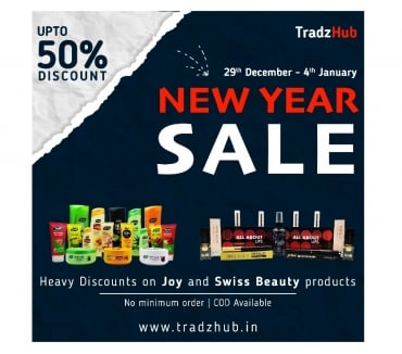Photos for New Year Sale In India | Shop Online For Joy & Swiss Beauty