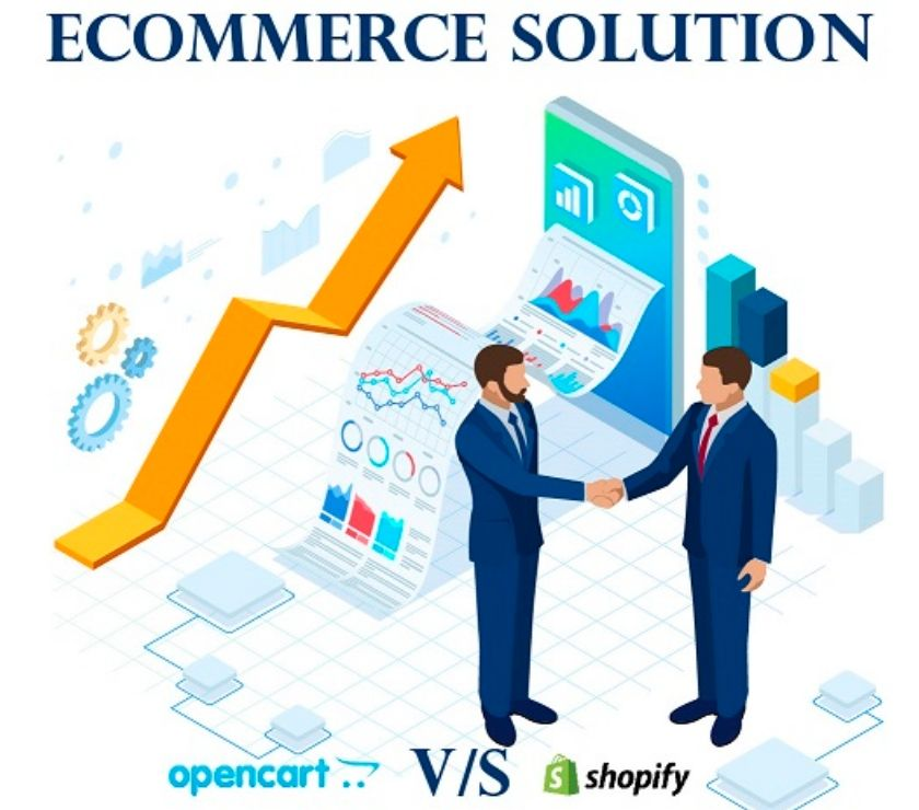 Web services Surat - Photos for Opencart vs. Shopify – Choose the Right eCommerce Solution