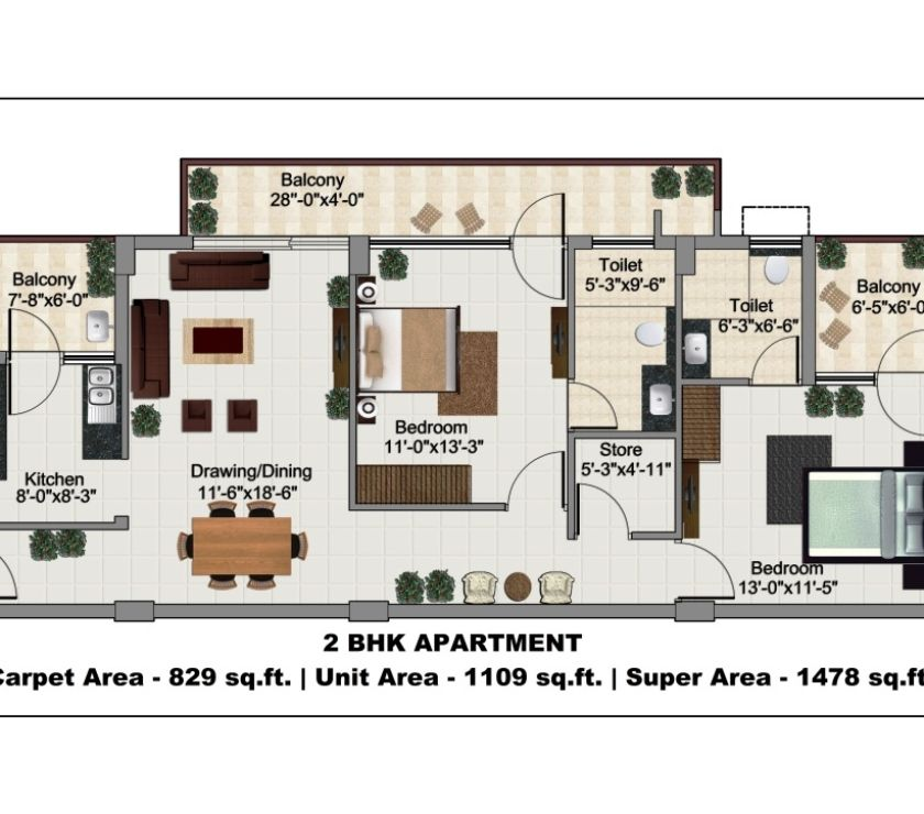 Houses & Flats for sale Bathinda - Photos for 2BHK flat for sale in mohali near airport