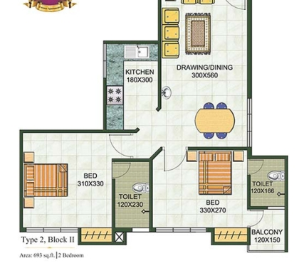 Photos for 2 BHk 682 sqft brand new flat sale near vyttila