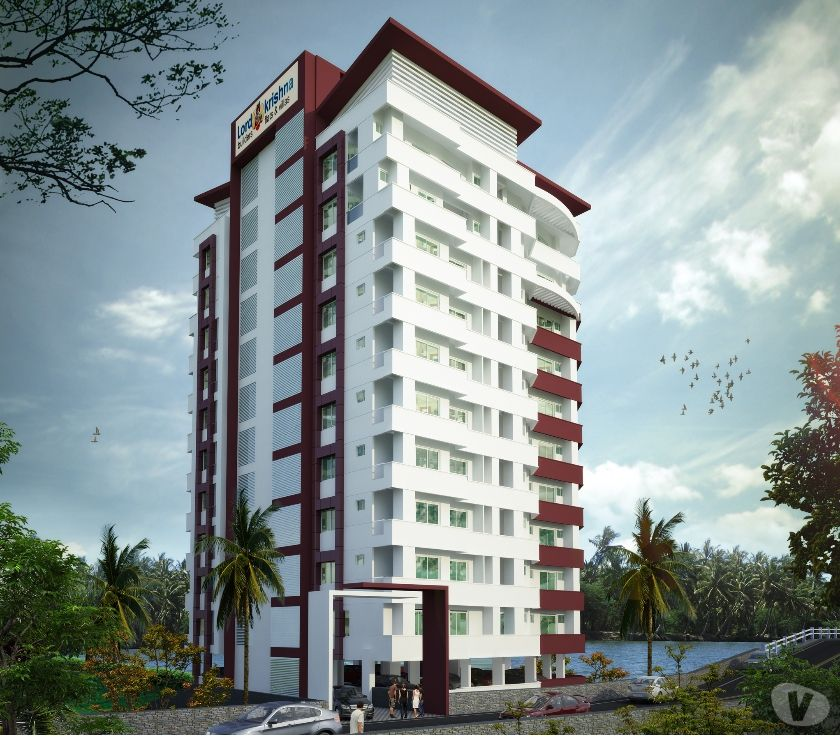 Houses & Flats for sale Kochi - Photos for Flats in Aluva