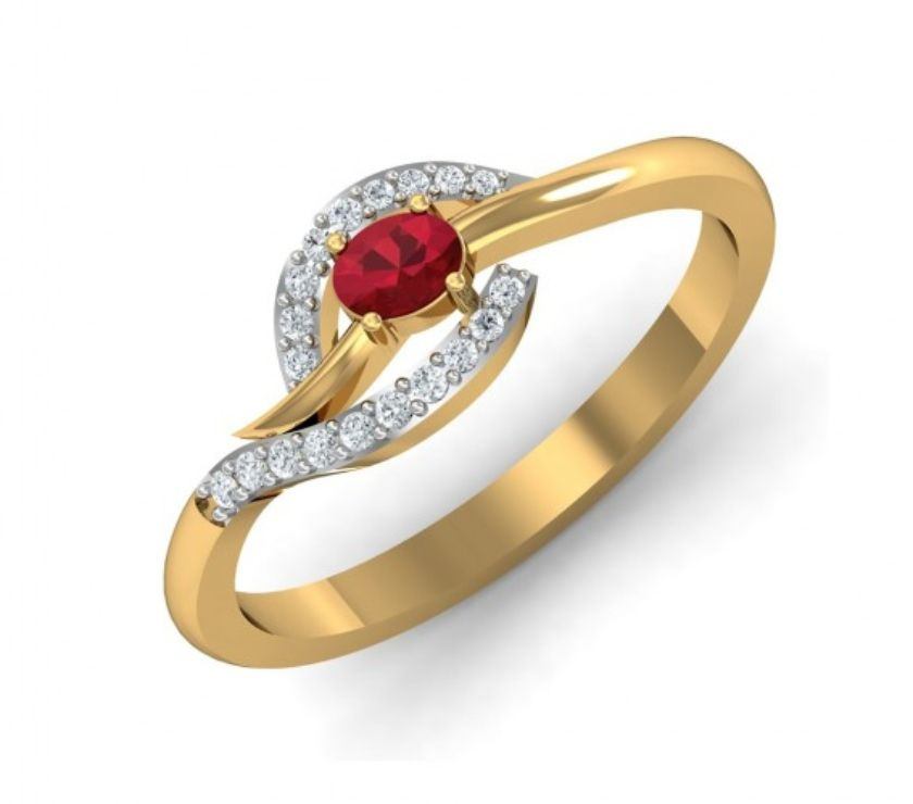 Fashion accessories New Delhi - Photos for Gemston Gold Ring for girl Online