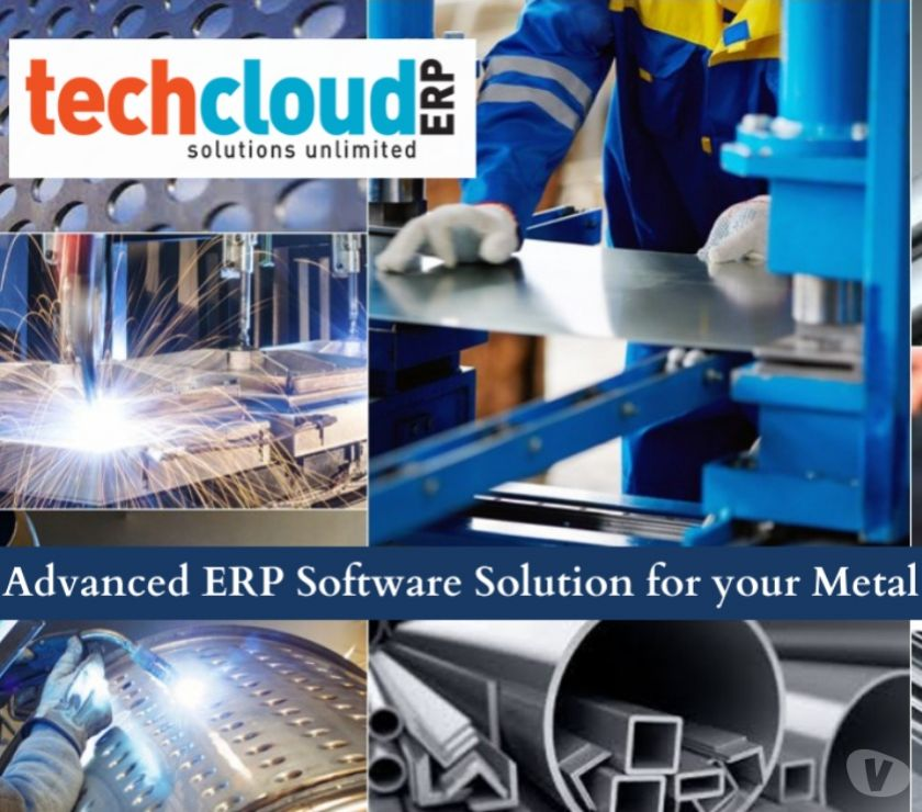 Web services Hyderabad - Photos for Advanced ERP Software Solution for your Metal Industry