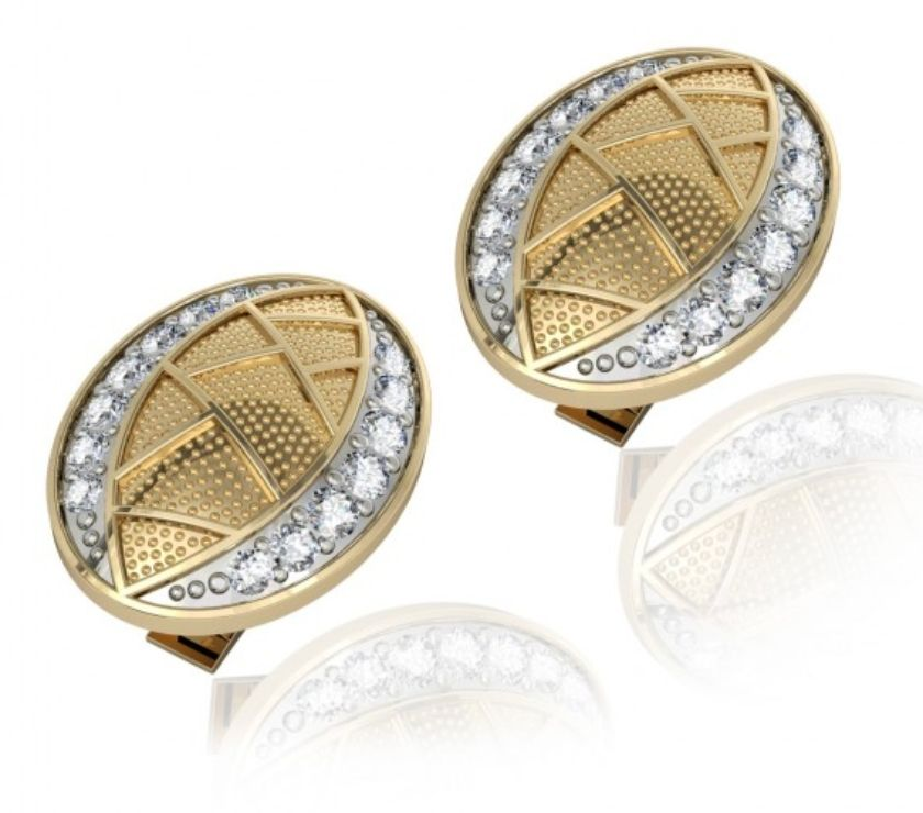 Fashion accessories New Delhi - Photos for Buy Eric Cufflink Online with Diamond in India