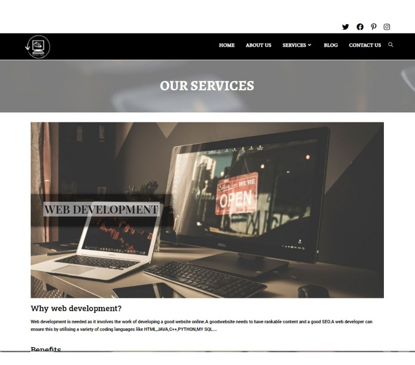 Web services Udham Singh Nagar - Photos for available at affordable prices wordpress development company