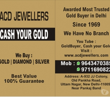 Photos for Get Cash For Your Gold in Delhi