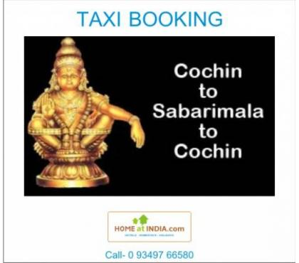 Photos for Sabarimala Taxi Booking Rental Service from COCHIN Airport