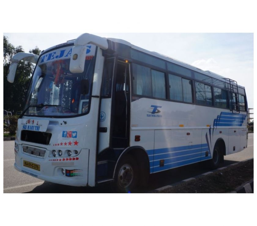 Other Services Bangalore - Photos for Hire or rent 32 Seater Bus for 28rs per KM in Bangalore