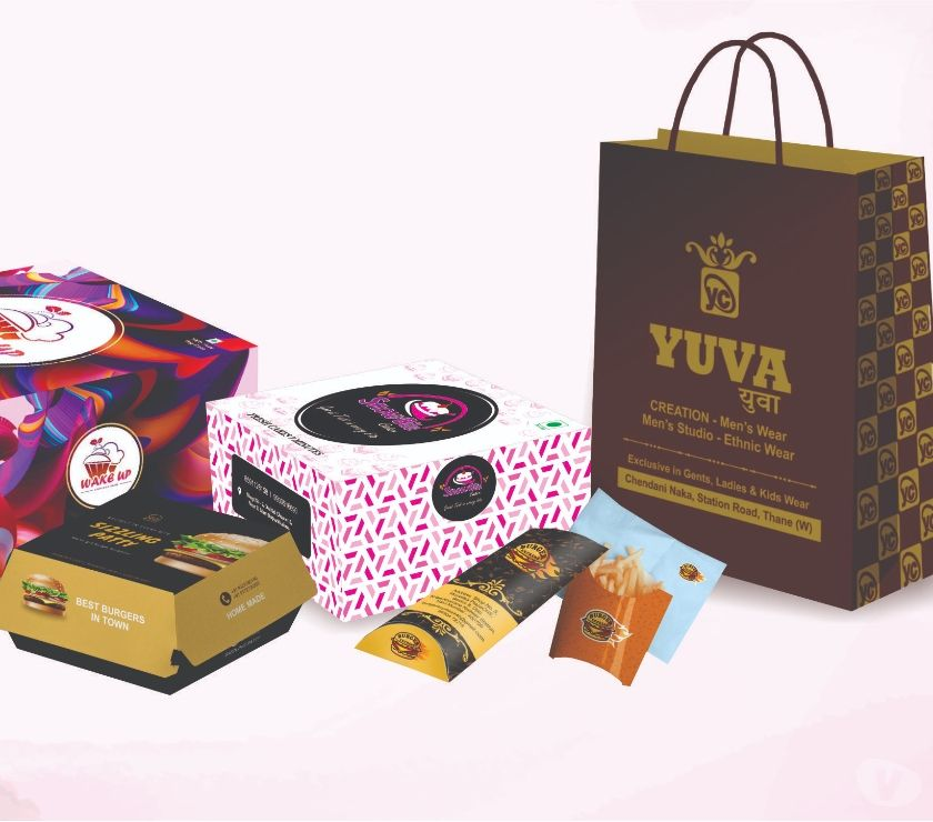 Buy & Sell Gift Mumbai - Photos for cake box and paper bags
