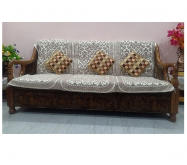 Photos for Sofa Set Teak wood 5 seater