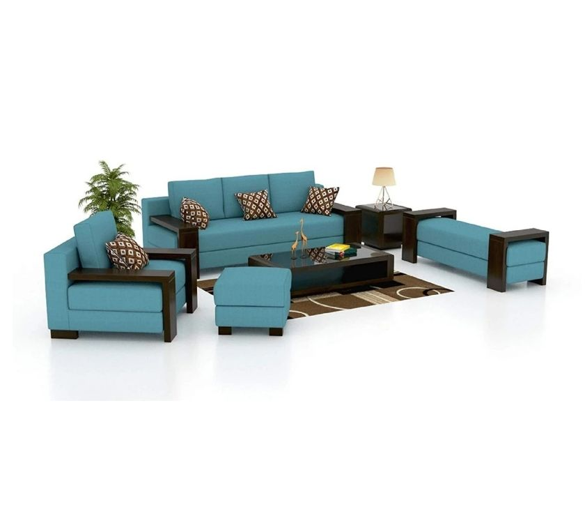 Buy & Sell home appliances New Delhi - Photos for Make your home luxurious with a 6 seater sofa set.