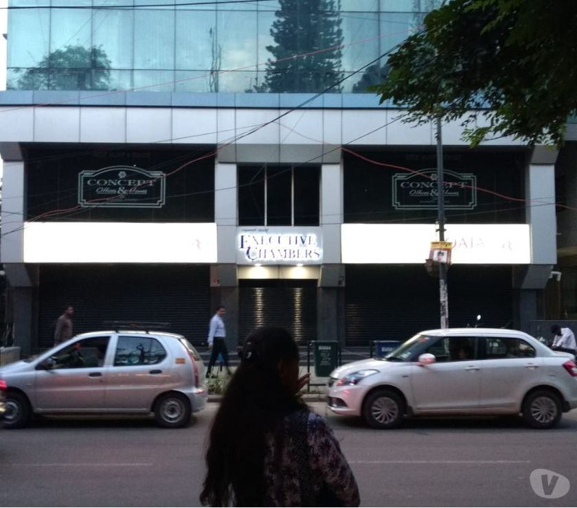 Office space Bangalore - Photos for Commercial retail Office Space for rent in Cunningham road