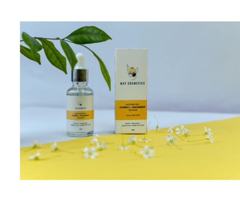 Beauty products Delhi - Photos for Best Vitamin C With Niacinamide Serum in India