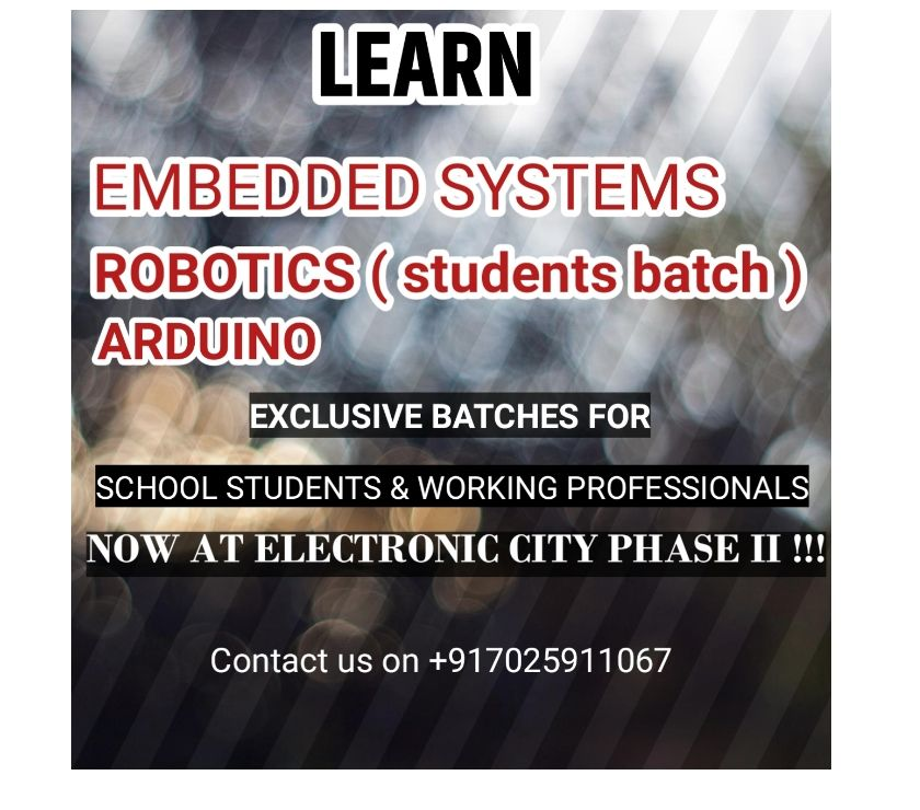 Coaching class Bangalore - Photos for TRAINING IN ELECTRONICS &ARDUINO FOR STUDENTS ,PROFESSIONALS