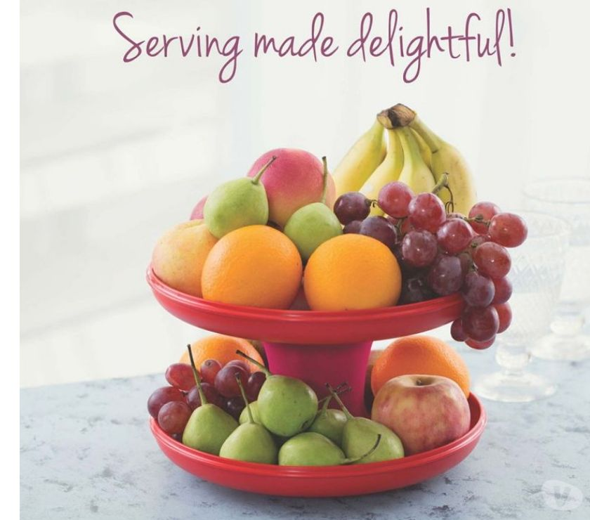 Buy & Sell Gift Mumbai - Photos for Tupperware Snack Serving Stand Serve It All