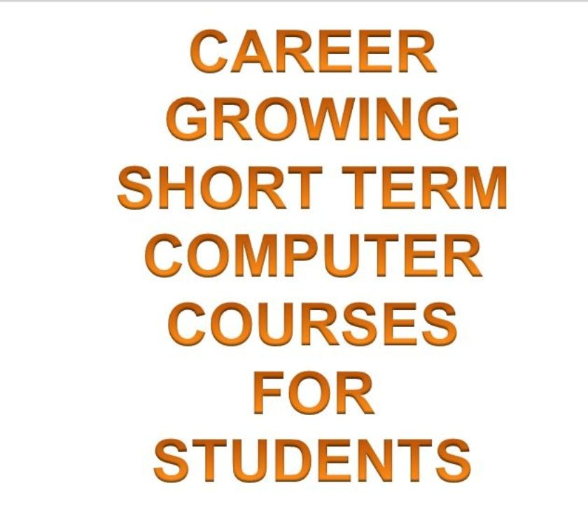 IT & Computer course Chandigarh - Photos for CAREER GROWING SHORT TERM COMPUTER COURSES FOR STUDENTS