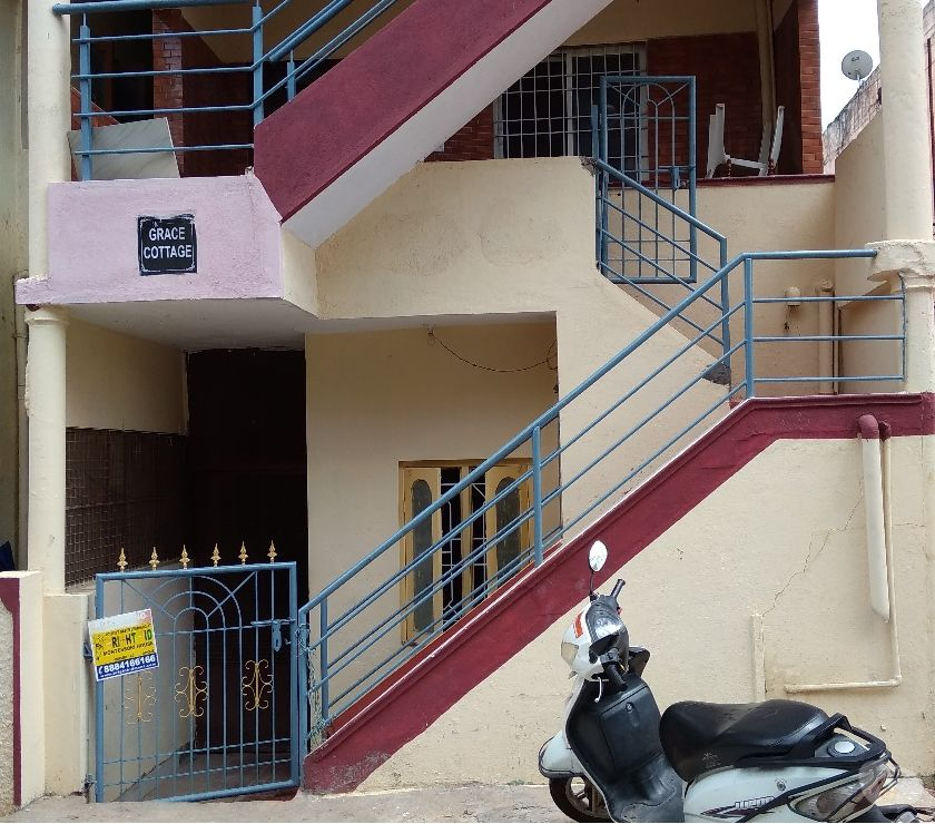 property for rent Bangalore - Photos for 1 bhk independent house in amrutahalli