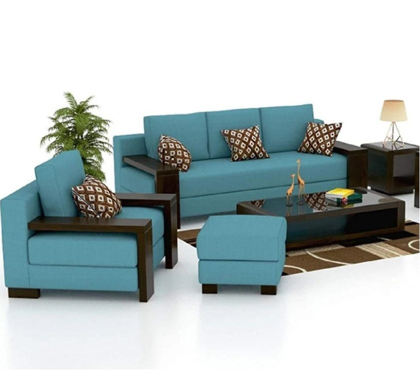 Buy & Sell home appliances Delhi - Photos for Make your home luxurious with a 6 seater sofa set.