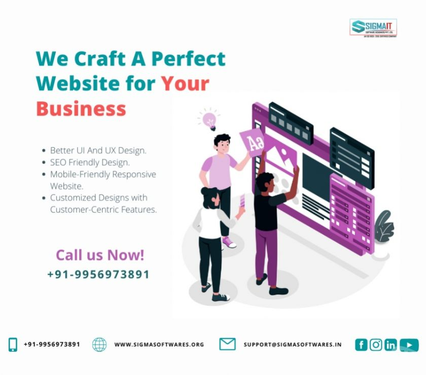 Web services Lucknow - Photos for Get A Perfectly Crafted Website for Your Business