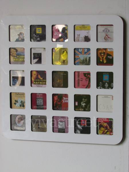 Porta cd a muro paderno dugnano casalinghi articoli - Porta cd da muro ...
