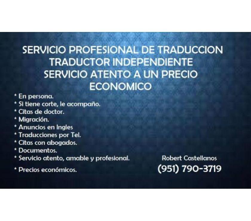 Traductores Riverside - Fotos de Traductor Independiente Espanol - Ingles, precios mas bajos