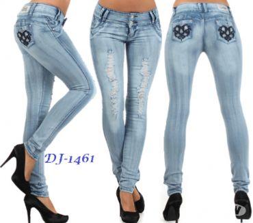 Fotos de jeans colombianos silver diva $11